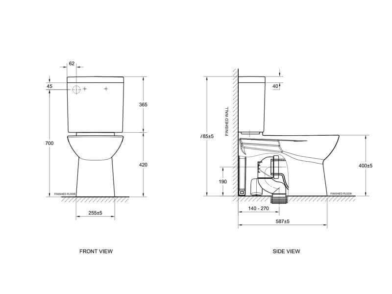Toilet Installation Perth Wa Mackie Plumbing And Gas
